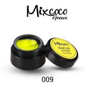 4D Color Gel πλαστελίνη για σχέδια 10g 009 Κίτρινη