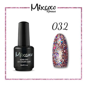 Rock Sparkling Gel 32 Color 15ml Φούξια