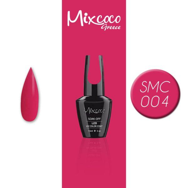 004 Ημιμόνιμο Βερνίκι Mixcoco 15ml (Ημιμόνιμα Βερνίκια)