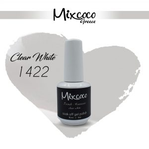 1422 French Manicure Clear White 15ml (Ημιμόνιμα Βερνίκια)