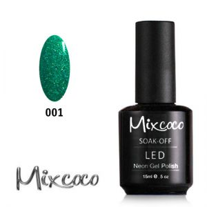 Neon-001 Ημιμόνιμο Βερνίκι Mixcoco 15ml