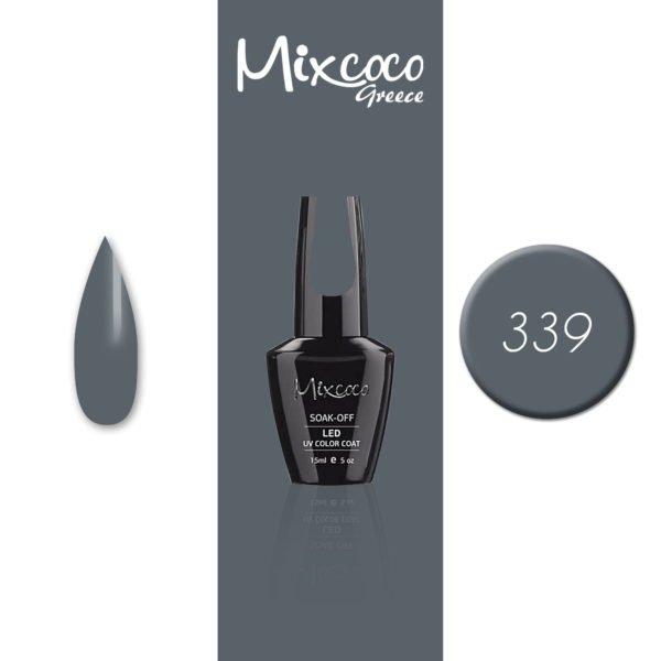 339 Ημιμόνιμο Βερνίκι Mixcoco 15ml (Ημιμόνιμα Βερνίκια)