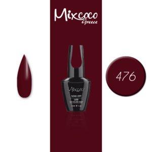 476 Ημιμόνιμο Βερνίκι Mixcoco 15ml (Ημιμόνιμα Βερνίκια)