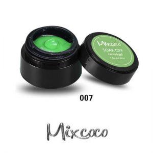 4D Color Gel πλαστελίνη για σχέδια 10g 007 Πράσινη