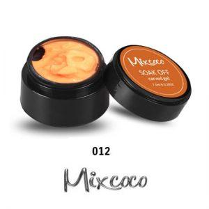 4D Color Gel πλαστελίνη για σχέδια 10g 012 Πορτοκαλί