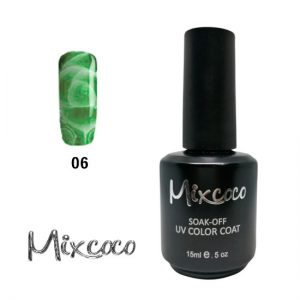 Blossom-06 Ημιμόνιμο Βερνίκι Mixcoco 15ml Πράσινο