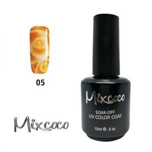 Blossom-05 Ημιμόνιμο Βερνίκι Mixcoco 15ml Κίτρινο