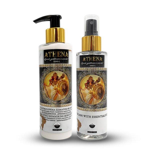 Set Athena Body Lotion & Body Splash