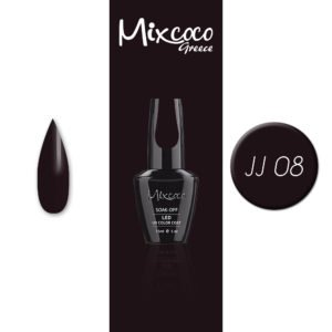 JJ-08 Ημιμόνιμο Βερνίκι Mixcoco 15ml (Ημιμόνιμα Βερνίκια)