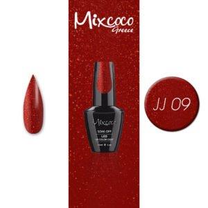 JJ-09 Ημιμόνιμο Βερνίκι Mixcoco 15ml (Ημιμόνιμα Βερνίκια)