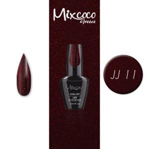 JJ-11 Ημιμόνιμο Βερνίκι Mixcoco 15ml (Ημιμόνιμα Βερνίκια)