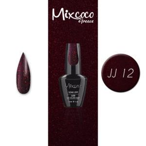 JJ-12 Ημιμόνιμο Βερνίκι Mixcoco 15ml (Ημιμόνιμα Βερνίκια)