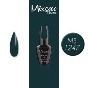 MS-1247 Ημιμόνιμο Βερνίκι Mixcoco 15ml (Ημιμόνιμα Βερνίκια)