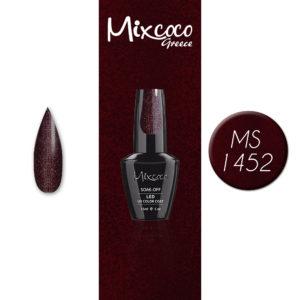 MS-1452 Ημιμόνιμο Βερνίκι Mixcoco 15ml (Ημιμόνιμα Βερνίκια)