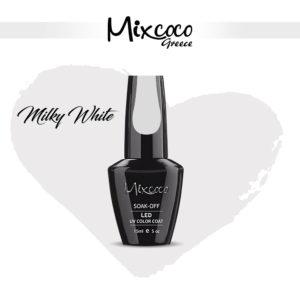 Milky White French Manicure 15ml (Ημιμόνιμα Βερνίκια)