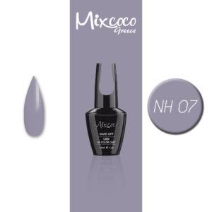 NH-007 Ημιμόνιμο Βερνίκι Mixcoco 15ml Grey Flavor (Ημιμόνιμα Βερνίκια)