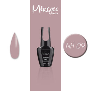 NH-009 Ημιμόνιμο Βερνίκι Mixcoco 15ml Grey Flavor (Ημιμόνιμα Βερνίκια)