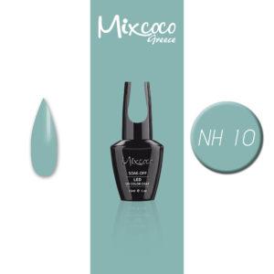 NH-010 Ημιμόνιμο Βερνίκι Mixcoco 15ml Grey Flavor (Ημιμόνιμα Βερνίκια)