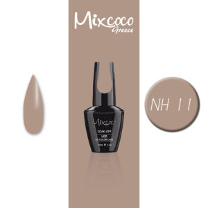 NH-011 Ημιμόνιμο Βερνίκι Mixcoco 15ml Grey Flavor (Ημιμόνιμα Βερνίκια)