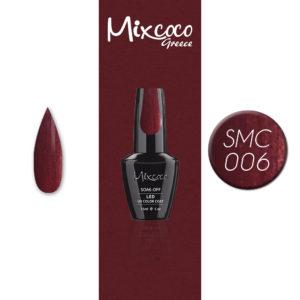 006 Ημιμόνιμο Βερνίκι Mixcoco 15ml Pearly (Ημιμόνιμα Βερνίκια)