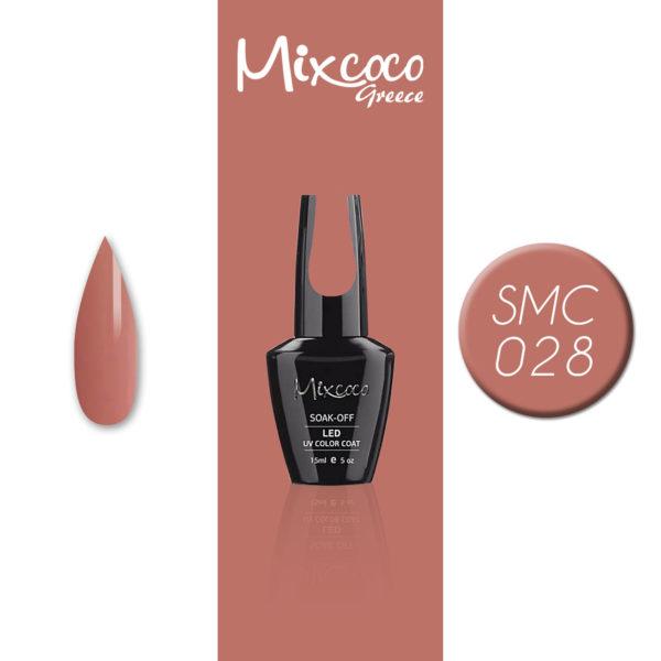 028 Ημιμόνιμο Βερνίκι Mixcoco 15ml (Ημιμόνιμα Βερνίκια)