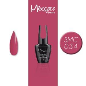 034 Ημιμόνιμο Βερνίκι Mixcoco 15ml (Ημιμόνιμα Βερνίκια)