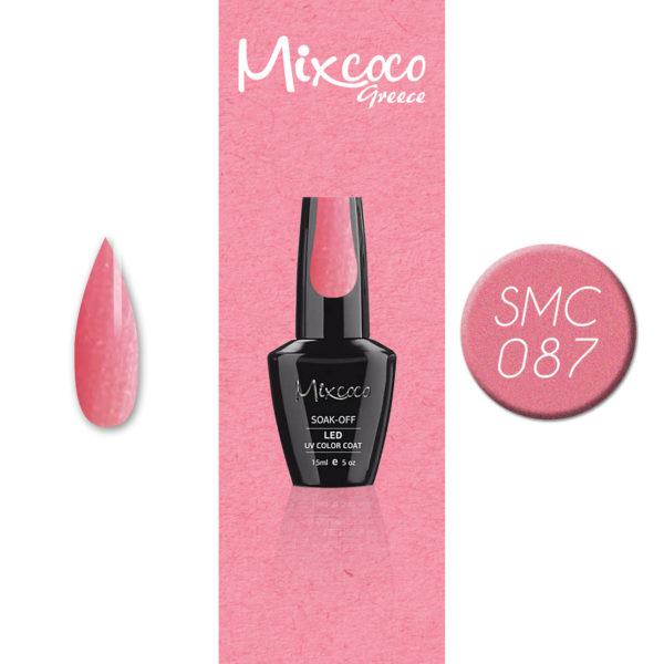 087 Ημιμόνιμο Βερνίκι Mixcoco 15ml Glitter (Ημιμόνιμα Βερνίκια)
