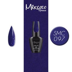 097 Ημιμόνιμο Βερνίκι Mixcoco 15ml Glitter (Ημιμόνιμα Βερνίκια)