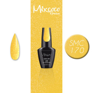 SMC 170 Ημιμόνιμο Βερνίκι Mixcoco 15ml Glitter (Ημιμόνιμα Βερνίκια)