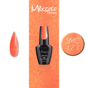 SMC 171 Ημιμόνιμο Βερνίκι Mixcoco 15ml Glitter (Ημιμόνιμα Βερνίκια)