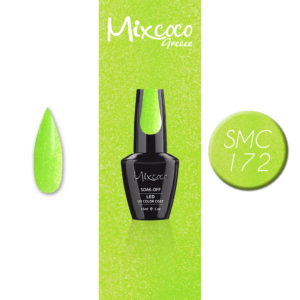 SMC 172 Ημιμόνιμο Βερνίκι Mixcoco 15ml Glitter (Ημιμόνιμα Βερνίκια)