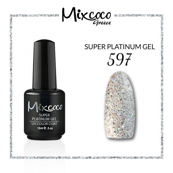 Super Platinum Gel 597 15ml