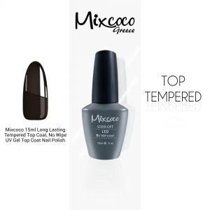 Top Tempered (Τοπ ενισχυμένο) Mixcoco 15ml Μεσαίας Ρευστότητας