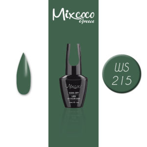 WS- 215 Ημιμόνιμο Βερνίκι Mixcoco 15ml (Ημιμόνιμα Βερνίκια)