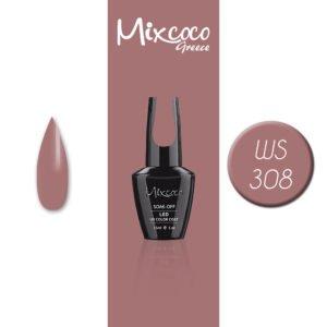 WS-308 Ημιμόνιμο Βερνίκι Mixcoco 15ml (Ημιμόνιμα Βερνίκια)