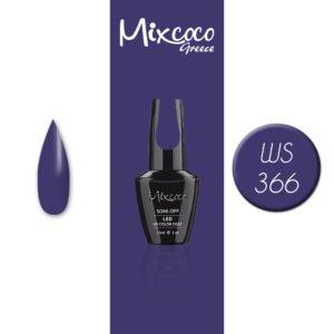 WS-366 Ημιμόνιμο Βερνίκι Mixcoco 15ml (Ημιμόνιμα Βερνίκια)
