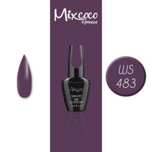 WS-460 Ημιμόνιμο Βερνίκι Mixcoco 15ml (Ημιμόνιμα Βερνίκια)