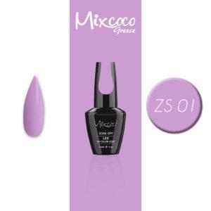 ZS-001 Ημιμόνιμο Βερνίκι Mixcoco 15ml Purple Flavor (Ημιμόνιμα Βερνίκια)