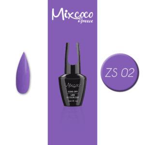 ZS-002 Ημιμόνιμο Βερνίκι Mixcoco 15ml Purple Flavor (Ημιμόνιμα Βερνίκια)