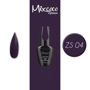 ZS-004 Ημιμόνιμο Βερνίκι Mixcoco 15ml Purple Flavor (Ημιμόνιμα Βερνίκια)