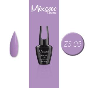 ZS-005 Ημιμόνιμο Βερνίκι Mixcoco 15ml Purple Flavor (Ημιμόνιμα Βερνίκια)