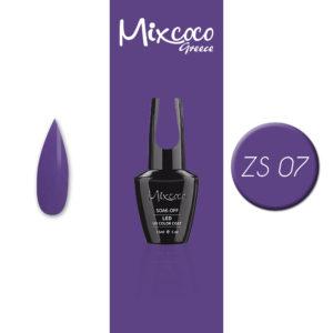 ZS-007 Ημιμόνιμο Βερνίκι Mixcoco 15ml Purple Flavor (Ημιμόνιμα Βερνίκια)
