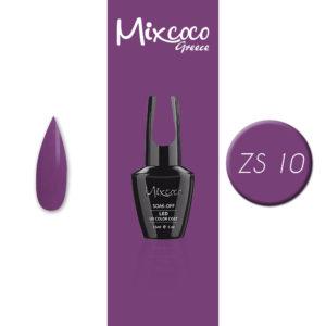 ZS-010 Ημιμόνιμο Βερνίκι Mixcoco 15ml Purple Flavor (Ημιμόνιμα Βερνίκια)