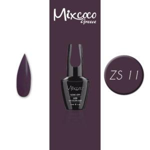 ZS-011 Ημιμόνιμο Βερνίκι Mixcoco 15ml Purple Flavor (Ημιμόνιμα Βερνίκια)