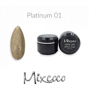 Mixcoco Platinum Gel Polish 10gr Color 001
