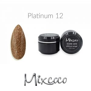 Mixcoco Platinum Gel Polish 10gr Color 012