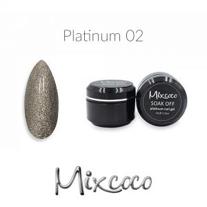 Mixcoco Platinum Gel Polish 10gr Color 002