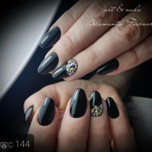 Ημιμόνιμα Βερνίκια 144 μαύρο