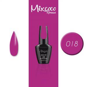 0018 Ημιμόνιμο Βερνίκι Mixcoco 15ml (Ημιμόνιμα Βερνίκια)