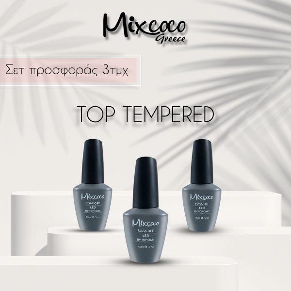 Σετ Top Tempered Mixcoco 3τμχ
